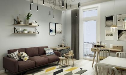 A Gellérthegy residence VR 360-as panoráma 03