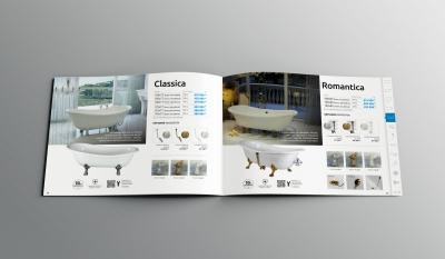 3DVisiondesign katalogushoz latvanyterv M-acryl Magazine Mockup