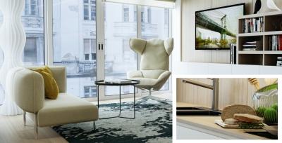 3DVisionDesign Király utca belsőépítészeti látványtervek
