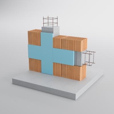 3DVisionDesign tetőszerkezet falmetszet termékvizualizácio 3d látványterv