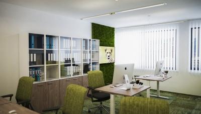 Modern iroda látványtervek