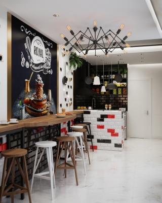 Royal Desszert Bar belsoepiteszeti latvanytervek 3DVisionDesign