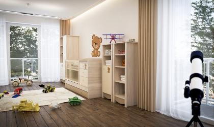Todi gyerekbútor 3d látványtervek