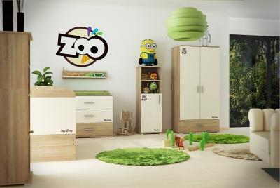 TODI Zoo Gyerekszoba 3d látványtervek