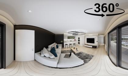 VR 360 fokos Panoráma látványterv készítés