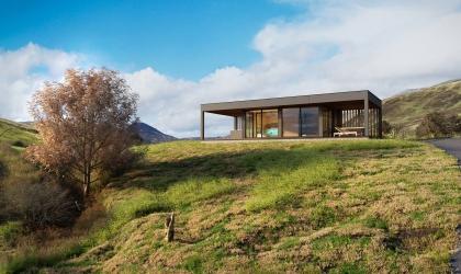 Kerti relax ház szaunával – látványterv