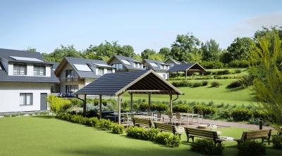 Kalandpark és Üdülőfalu 3d látványtervek épületek homlokzati külső belső