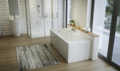 Macryl fürdőszoba katalógus modern fürdőszoba látványtervet készítettünk