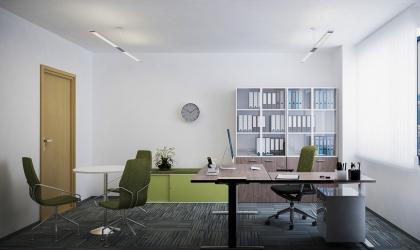 Modern iroda 3d látványterv