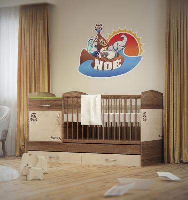 Noé Fiúszoba design 3d látványtervek